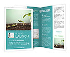 Plant In Soil Brochure Templates