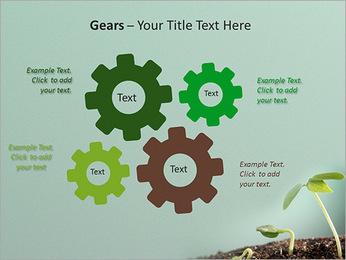 Plante dans le sol Modèles des présentations  PowerPoint - Diapositives 27