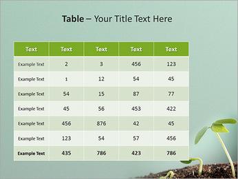 Plante dans le sol Modèles des présentations  PowerPoint - Diapositives 35