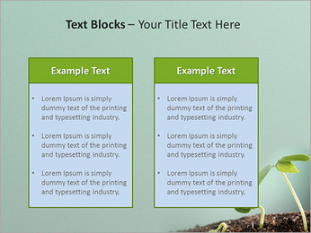 Plante dans le sol Modèles des présentations  PowerPoint - Diapositives 37