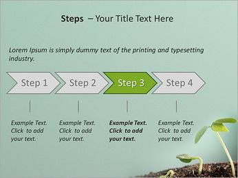 Plante dans le sol Modèles des présentations  PowerPoint - Diapositives 4