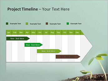 Plante dans le sol Modèles des présentations  PowerPoint - Diapositives 5