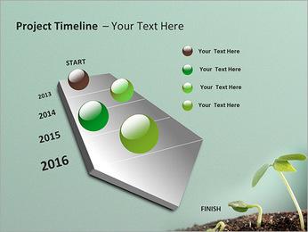 Plante dans le sol Modèles des présentations  PowerPoint - Diapositives 6