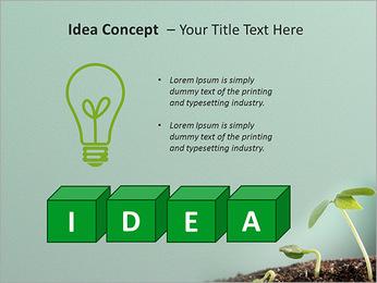 Plante dans le sol Modèles des présentations  PowerPoint - Diapositives 60