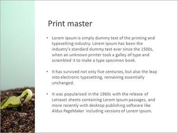 Plante dans le sol Modèles des présentations  PowerPoint - Diapositives 76