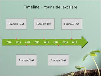 Plante dans le sol Modèles des présentations  PowerPoint - Diapositives 8