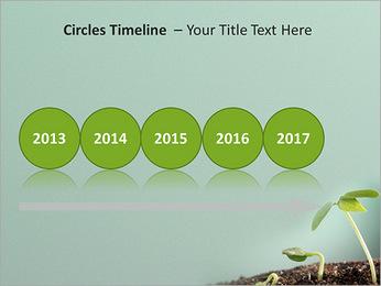 Plante dans le sol Modèles des présentations  PowerPoint - Diapositives 9