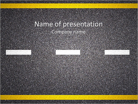 Roads powerpoint templates backgrounds google slides themes asphalt road powerpoint template toneelgroepblik Image collections