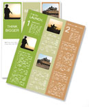 Military Man Newsletter Templates