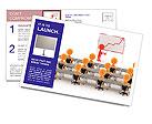 Business Seminar Postcard Templates
