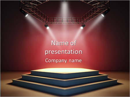 Luxury stage powerpoint template backgrounds id 0000005076 luxury stage powerpoint templates toneelgroepblik Gallery