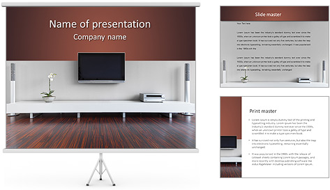 Шаблоны для презентаций мебель