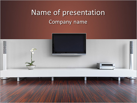 Stylish Interior Design PowerPoint Template Backgrounds ID