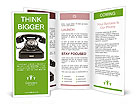 Retro Phone Brochure Templates