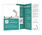 Risk In Business Brochure Templates
