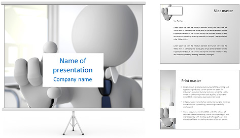 business card exchange powerpoint template  backgrounds id, Powerpoint