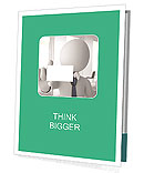 Business Card Exchange Presentation Folder
