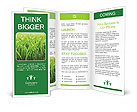 Grass In The Village Brochure Templates