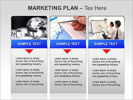 marketing plan ppt diagrams chart design id 0000005128