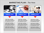 Marketing Plan PPT Diagrams & Chart