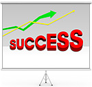 Success PPT Diagrams & Chart