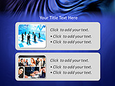 Blue Atlas Animated PowerPoint Template - Slide 9