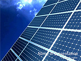 Huge Solar Panel Animated PowerPoint Template - Slide 1