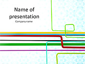 Abstract Lines Animated PowerPoint Templates - Slide 1