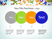 Different Letters Animated PowerPoint Templates - Slide 10