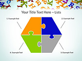 Different Letters Animated PowerPoint Templates - Slide 11