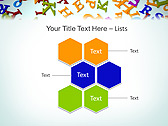 Different Letters Animated PowerPoint Templates - Slide 12