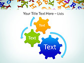 Different Letters Animated PowerPoint Templates - Slide 16