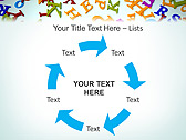 Different Letters Animated PowerPoint Templates - Slide 20