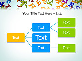 Different Letters Animated PowerPoint Templates - Slide 22