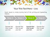 Different Letters Animated PowerPoint Templates - Slide 3