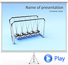 Pendulum Animated PowerPoint Template