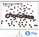 Chocolate Dйcor Animated PowerPoint Template