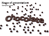 Chocolate Dйcor Animated PowerPoint Template - Slide 1