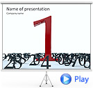 Number One Animated PowerPoint Template