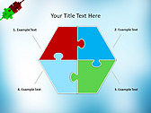 Puzzle Parts Animated PowerPoint Template - Slide 11
