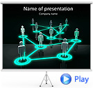 Position In Structure Animated PowerPoint Template