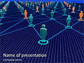 Connection Between People Animated PowerPoint Template - Slide 1