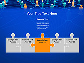 Connection Between People Animated PowerPoint Template - Slide 19