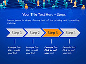 Connection Between People Animated PowerPoint Template - Slide 3