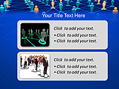 Connection Between People Animated PowerPoint Template - Slide 9