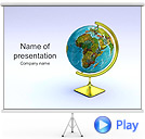 Globe Animated PowerPoint Template