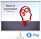 Brain Mechanism Animated PowerPoint Template