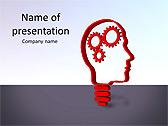 Brain Mechanism Animated PowerPoint Template - Slide 1