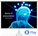 Human Intellect Animated PowerPoint Template
