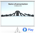 Domino Game Animated PowerPoint Templates
